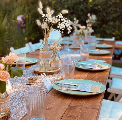 Tisch Rustic Brown