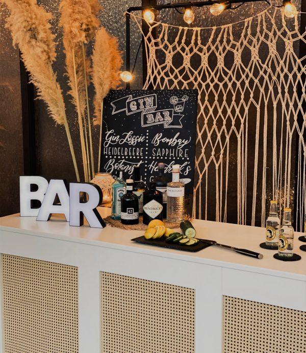 Theke als Gin Bar